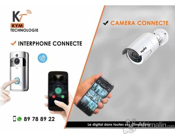 Caméra et Interphone connecté