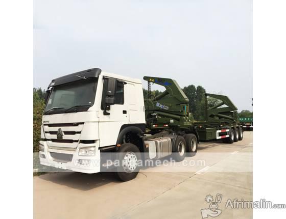 40ft élévateur latéral à conteneurs autocharge sidelifter side loader trailer