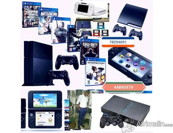 achat vente de consoles jeux vid o abidjan r gion d. Black Bedroom Furniture Sets. Home Design Ideas
