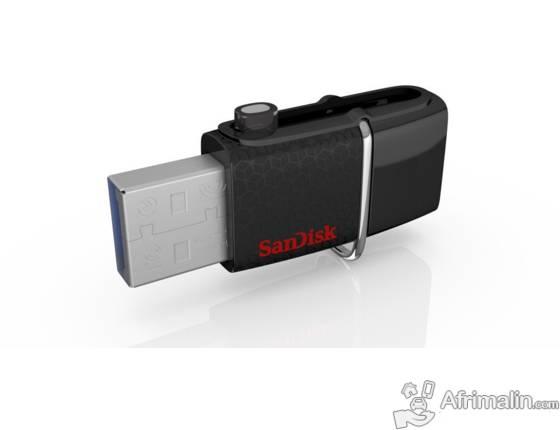Clé USB OTG double connectique | 64 Go Sandisk