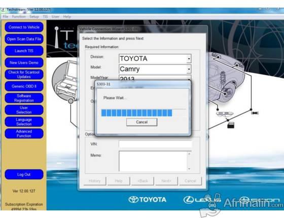 Acheter Toyota TIS Techstream V13.00.022 Outil De Diagnostic Livraison Gratuite