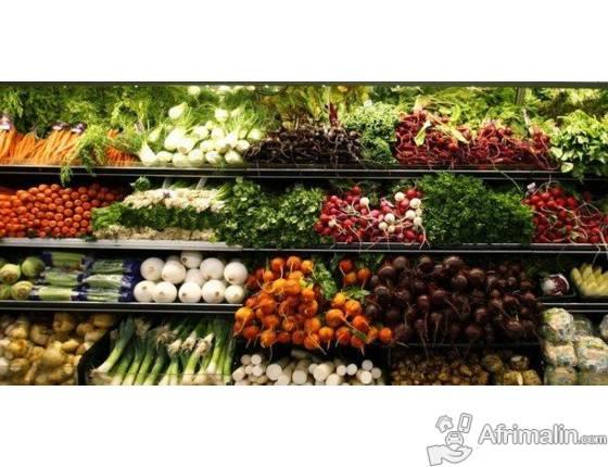 Plusieurs produits alimentaires