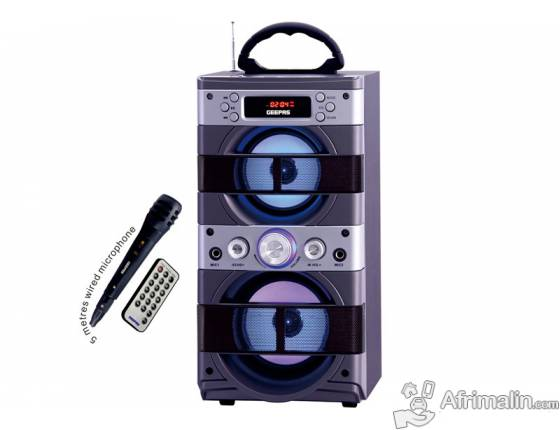 Mini Speaker portable GEEPAS GMS8480
