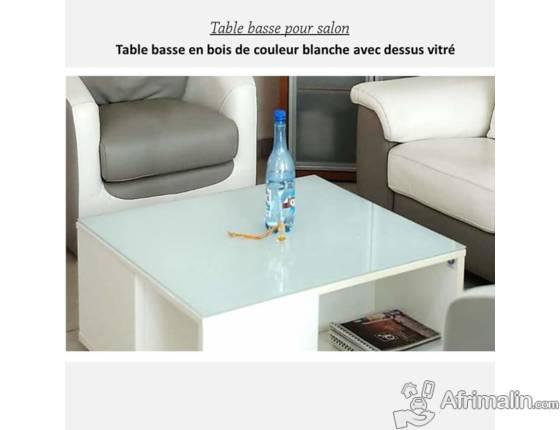 Table bas salon