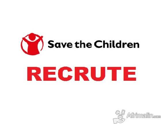 Save the Children International recrute 01 Superviseur Santé Nutrition