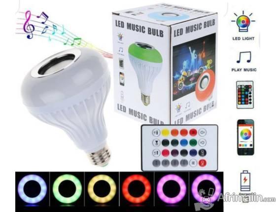 Ampoule émettant des jeux de lumière