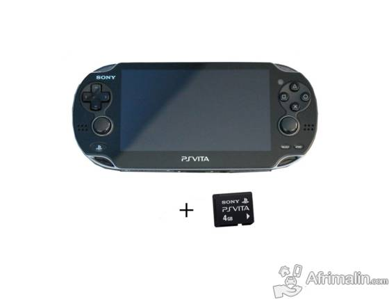 ps vita sony carte memoire 4go yaound r gion du centre cameroun consoles jeux vid os. Black Bedroom Furniture Sets. Home Design Ideas