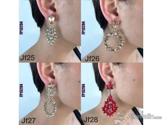 boucles d'oreilles de femmes