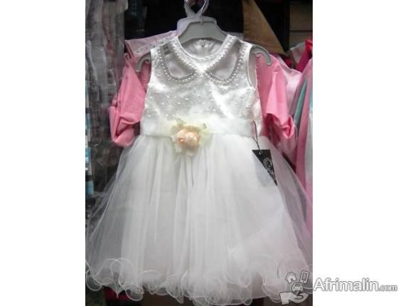 Robe Bébé blanche