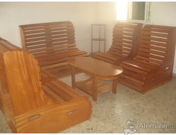 Salon de jardin en bois rouge 6 convives dakar r gion de dakar s n gal jardin bricolage - Salon de jardin rouge ...