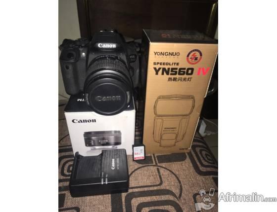 Canon EOS 700D et accessoires