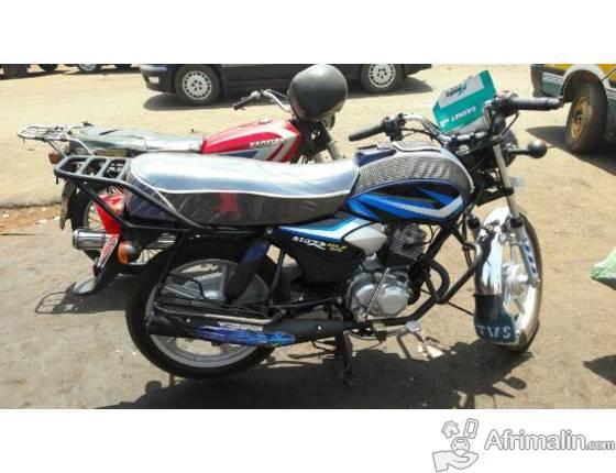 moto tvs hlx 125 conakry r gion de conakry guin e motos sur afrimalin. Black Bedroom Furniture Sets. Home Design Ideas