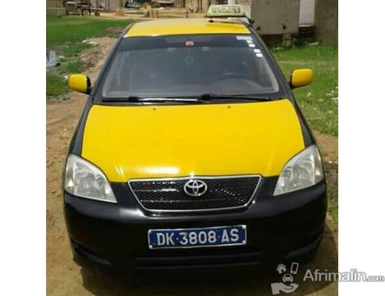 taxi a vendre avec licence en tr s bon tat corrola d4d dakar r gion de dakar s n gal. Black Bedroom Furniture Sets. Home Design Ideas
