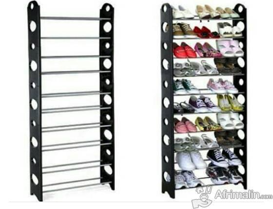 Rangement chaussure 9 etage et 4 etage