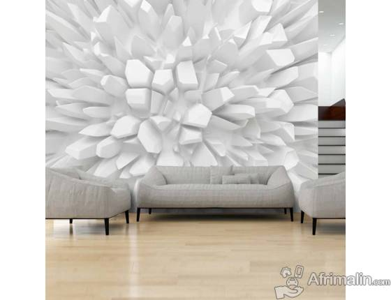decoration mural 3d dakar r gion de dakar s n gal d coration sur afrimalin. Black Bedroom Furniture Sets. Home Design Ideas