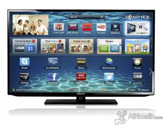 "Smart TV FULL HD 40"" SAMSUNG UA40H4203AR"