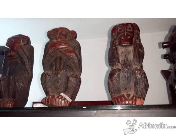boutique de vente d'objet artisanat et de cadeau traditionnel africain