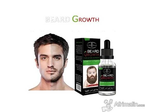Beard Growth, une huile qui pousse rapidement les barbes cheveux et favoris
