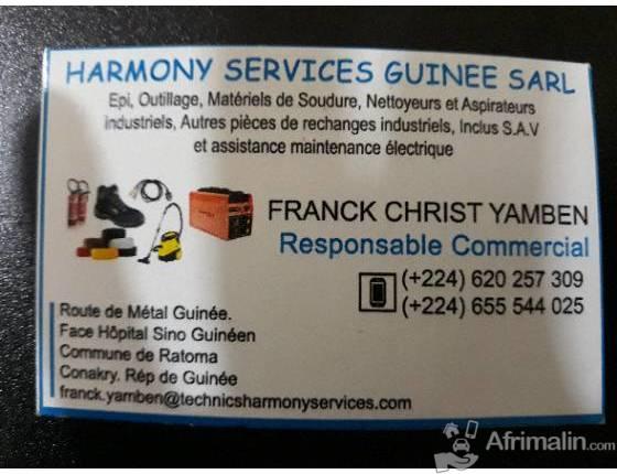 Harmony services guinee