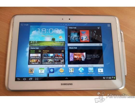Tablet samsung Note 10.1 avec stylo intelligent