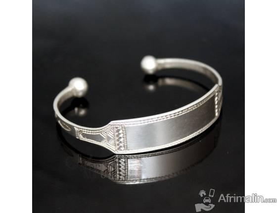 Bracelet Gourmette en Argent homme/femme, plusieurs motifs disponible