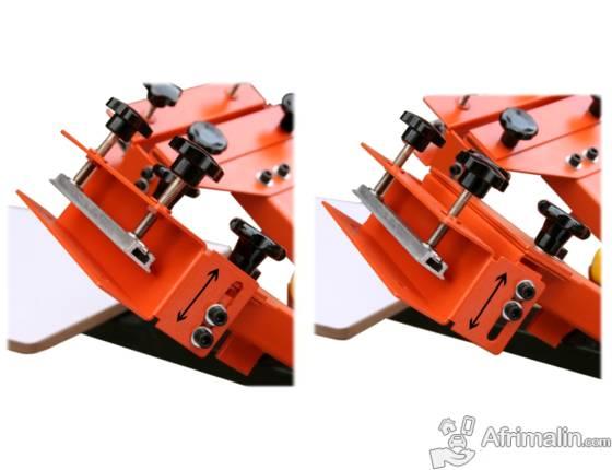 Carrousel Machine Table de Sérigraphie 6 Couleurs