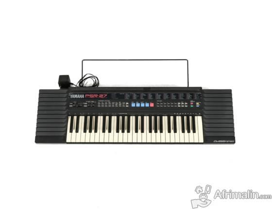 Piano YAMAHA PSR27 à 75.000fcfa