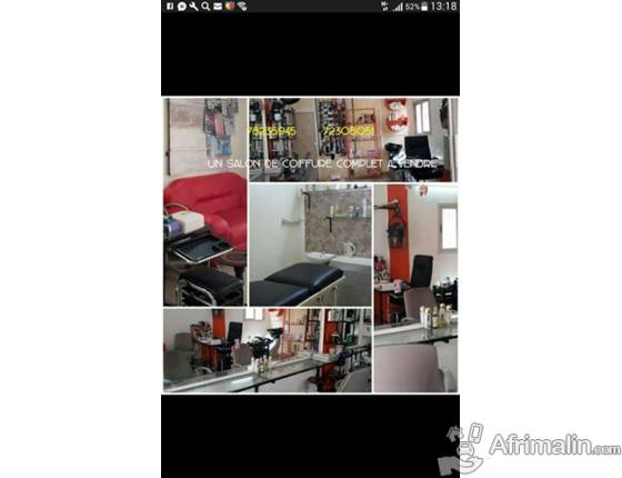 Un salon de coiffure complet vendre ouagadougou r gion du centre burkina faso autres - Vendre son salon de coiffure ...