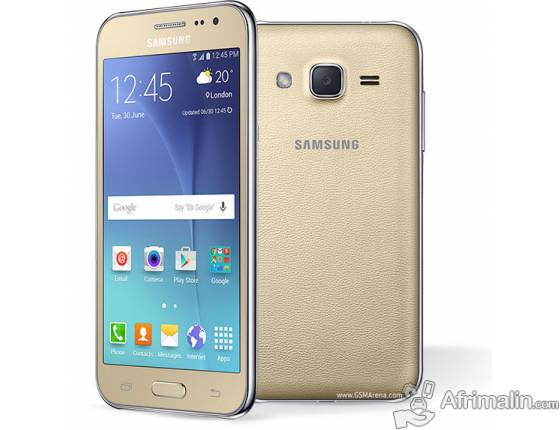 "SAMSUNG Galaxy J2 Or - 4.7"" - Double SIM - 8Go - RAM 1Go - 5MP"