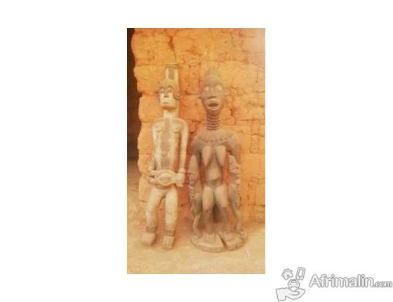 Arts primitifs STATUES BANWA