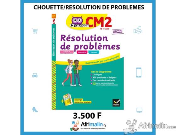 Chouette Résolution de problèmes CM2