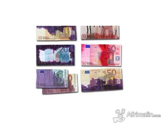 solution chimique SSD pour nettoyage des billets de banque