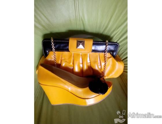 nouvelles images de fournir un grand choix de modèle unique Ensemble pochette et chaussure - Cotonou, Région du Littoral ...