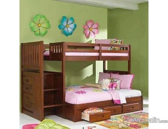 lit etage pratique douala r gion de littoral cameroun meubles sur afrimalin. Black Bedroom Furniture Sets. Home Design Ideas