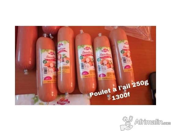 Des saucisses 100% Hallal