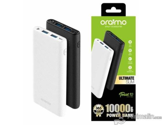 Power Bank ou chargeur mobile – 10000 mAh – OPB-P103D ORAIMO