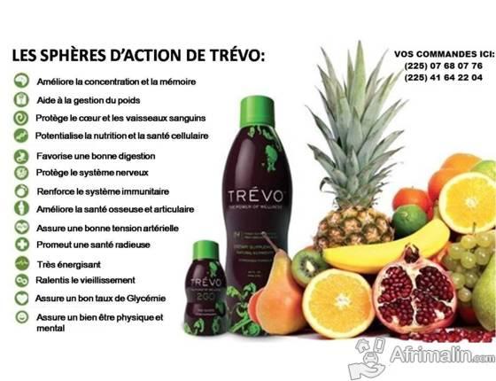 TREVO la santé et le bien-être  dans une bouteille