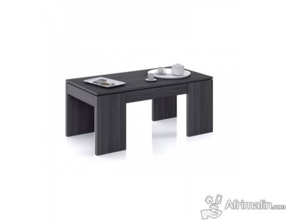 KENDRA Table Basse GRIS CENDRE