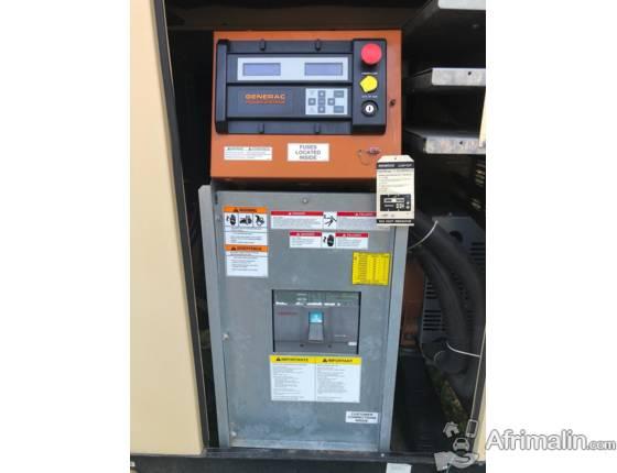 Groupe Electrogene neuf GENERAC 100KVA avec Inverseur neuf de 100 Amperes
