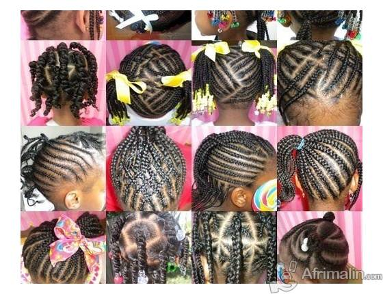 Tresse africaine cote d ivoire pictures to pin on pinterest thepinsta - Tresse colle pour petite fille ...