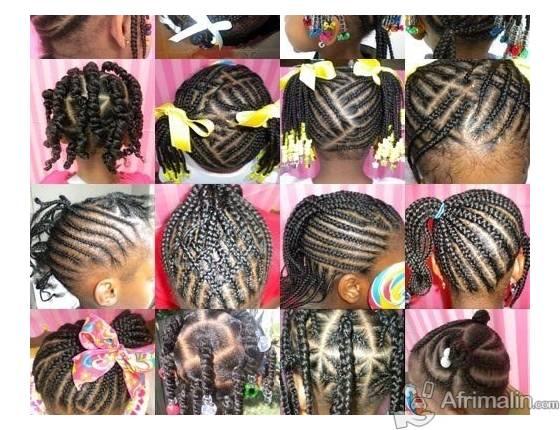Tresses Africaines Pour Enfants Abidjan R 233 Gion D