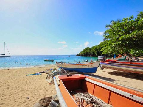 Martinique   les anses d'arlet   anse dufour %284%29
