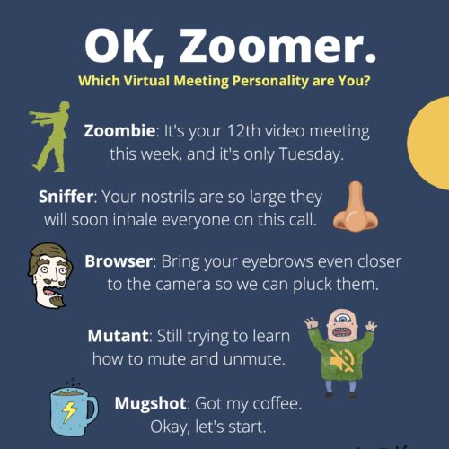 """OK, Zoomer"" — Fun Terms for Virtual Meetings"