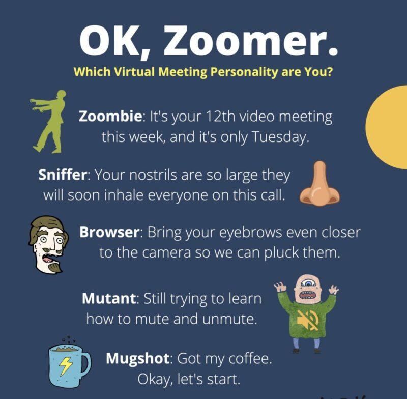 """OK, Zoomer"" — Fun Terms for Virtual Meetings"