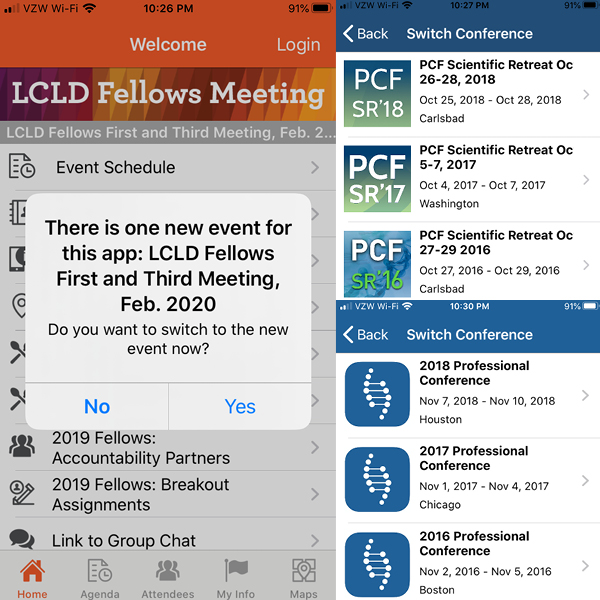 Multiple Event Listings? No Problem.