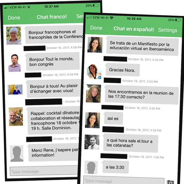 A Conference App that Speaks Your Attendees' Languages
