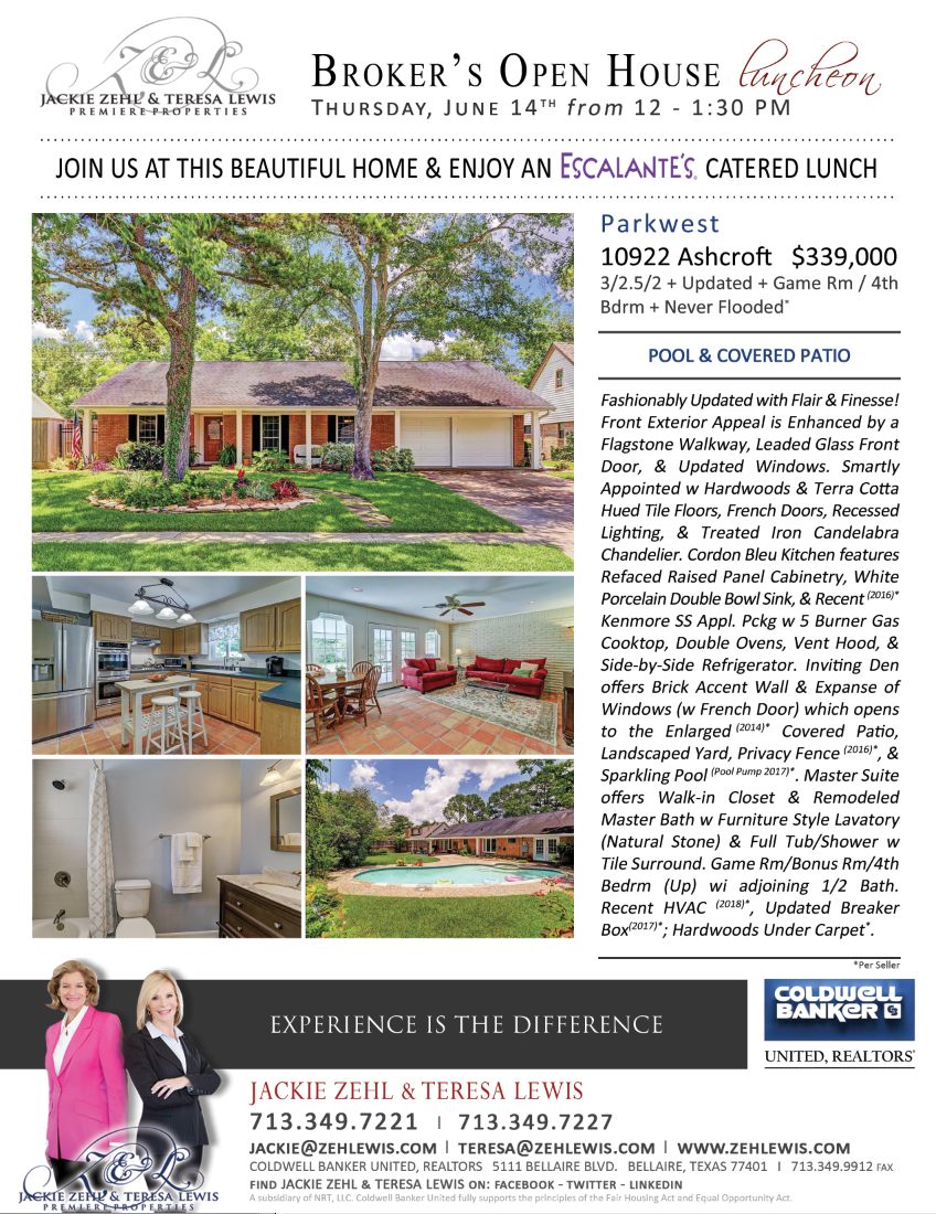 Broker's Open House