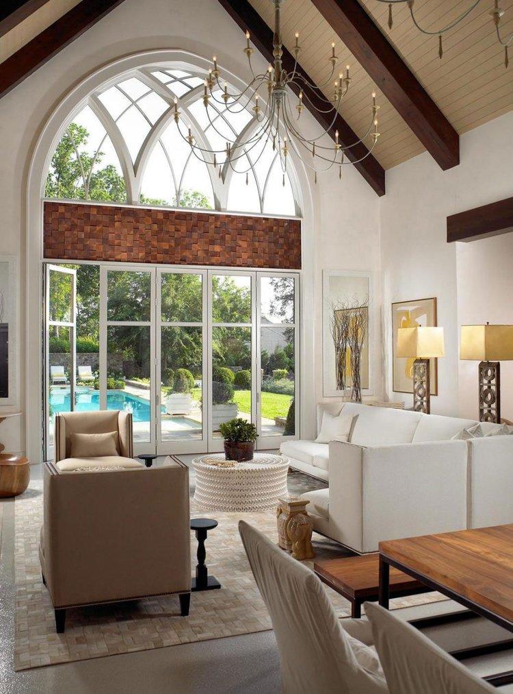 Wood Beams in the Living Room? - HAR.com