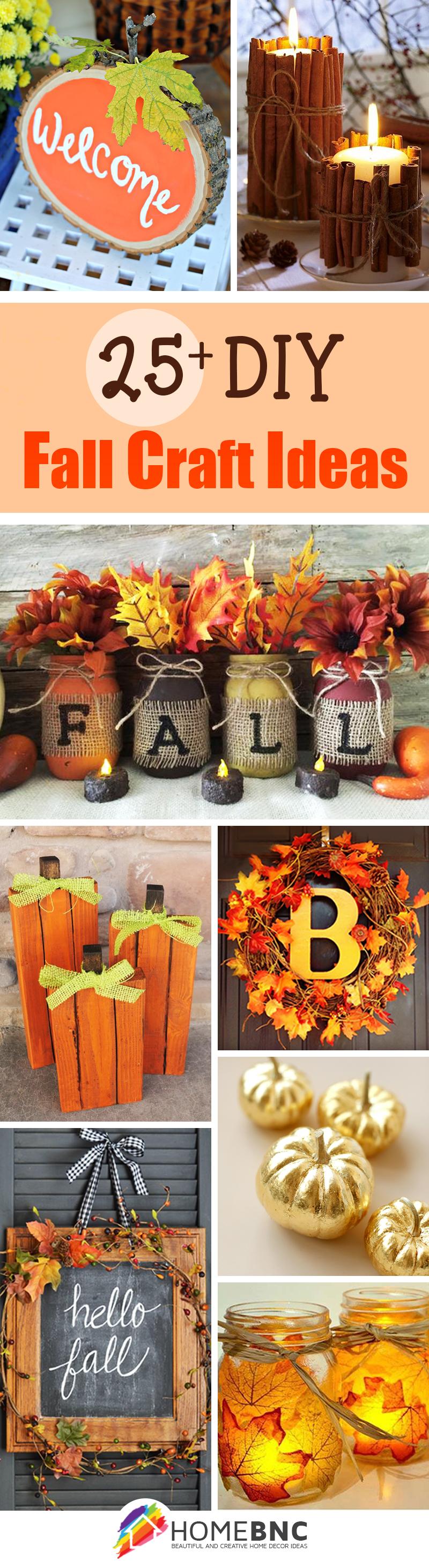 28 Fancy Diy Fall Craft Ideas To Bring Autumn Your Home Har Com