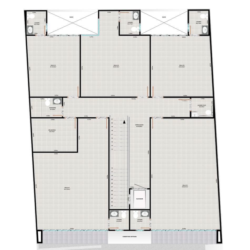 Sala Código 11742 para alugar no bairro Ingleses na cidade de Florianópolis